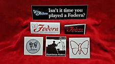 Fodera Guitars 6 Sticker Set