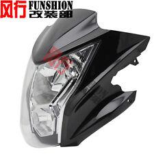 Motorcycle Motorbike Headlight+Fairing For Kawasaki ER-6N 2012 2013 2014 Black