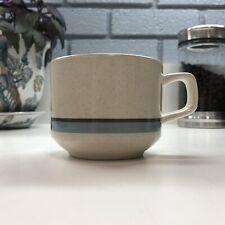 Lenox Temper-Ware Brushwork Blue Mug