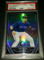 2013 Bowman Platinum # BPP67-  Joey Gallo Rookie Card! PSA MINT 9!