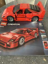 Lego creator expert Ferrari F40 (10248) (usado)