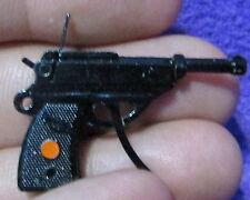 James Bond 007 Action Figure Miniature Black Metal Cap Gun  A.C. Gilbert 1965