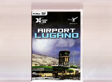 AIRPORT LUGANO. SUPERB EXPANSION FOR X-PLANE 10 GLOBAL ON PC & MAC. BRAND NEW!!