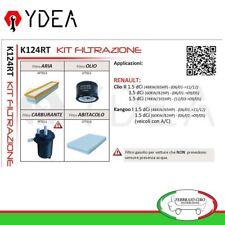 Kit Filtrazione Renault Clio II 1.5 dCi 48 60 74Kw Kangoo I 1.5 - Ydea K124RT