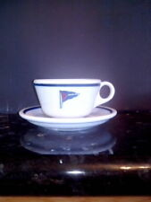 Vintage Corinthian Yacht Club Flag San Francisco Jackson China Cup & Saucer
