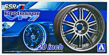 Aoshima 52778 Tuned Parts 27 1/24 SSR Professor VF1 20inch Tire & Wheel Set