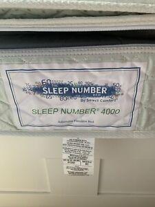 Select Comfort Series 4000 Queen Classic Mattress Cover Zipper Pillow Top/Bottom
