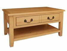 Less than 60cm High Oak Country Coffee Tables