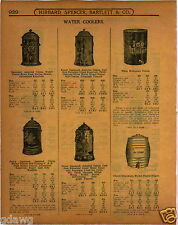 1919 PAPER AD Red Wing Cruso Zanesville Glazed Stoneware Water Cooler