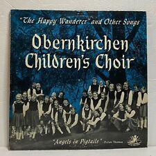 Obernkirchen Children's Choir: Angel Records LP Vinyl (Folk) RECORDED IN EUROPE