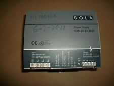 Sola  Power Supply  SDN20-24-480C  Input  400-500VAC 50/60HZ Output 24-28V 20A