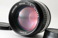 [Mint] Nikon NIKKOR Ai-S AIS 85mm f/2 MF Portrait Lens From Japan/Ship in 24H!