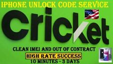 CRICKET EXPRESS  IPHONE UNLOCK SERVICE 5 5S 5c 6 7 7+ 8 X