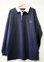 LARGE MENS SCOTLAND  RUGBY TOP 2XL 3XL 4XL 5X long and short sleeve