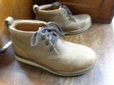 Rockport Works Shoes: 9M Men's RK2801 Brown Prestige Point Steel Toe Chukka