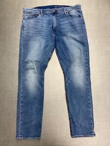 Levis 512 Slim 40 X 32 Mens Jeans Performance Medium Wash Big E