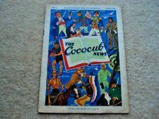 MARCH 1938 THE COCOCUB NEWS 10 PAGE CADBURY BROS LTD BOURNEVILLE PUBLICATION