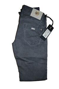 klixs jeans pantaloni da donna slim fit elasticizzati invernali a vita bassa 40