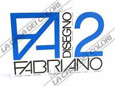 FABRIANO - DISEGNO 2 - F2 - 110 g/mq LISCIO - 33x48cm - BLOCCO 12FG A 4 ANGOLI