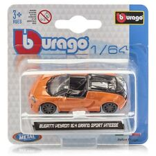 Burago Bugatti Veyron Grand Sport Vitesse 2 Tone (New & Sealed) 1:64 (Very Rare)