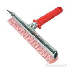 250mm Silverline Hand Squeegee - 993045 Window Sponge Cleaning Rubber