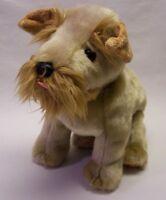 "TY Beanie Buddies SCHNITZEL TERRIER PUPPY DOG 9"" Plush STUFFED ANIMAL Toy 2003"