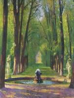 HENRI MARTIN VERSAILLES IMPRESSIONISM ART PRINT POSTER PICTURE HP372