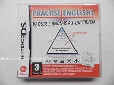 jeu PRACTISE ENGLISH sur nintendo DS en francais game spiel juego gioco COMPLET