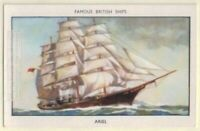 Clipper 'Ariel' The Great Tea Race of 1866 60+ Y/O Ad Trade Card