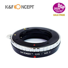 K&F Concept adapter for Contax G mount lens to Nikon Z mount Z6 Z7 Z50 camera