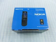 Nokia C2-05 Schwarz! NEU & OVP! Unbenutzt! Ohne Simlock! RAR!