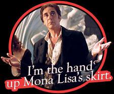 "90's Pacino Classic The Devil's Advocate ""Mona Lisa's Skirt"" custom tee Any Size"