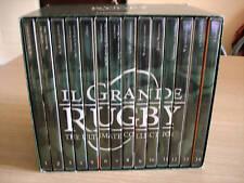 BOX COFANETTO 14 DVD IL GRANDE RUGBY THE ULTIMATE COLLECTION ITALIANO-ENGLISH