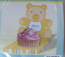 12 Bear Cupcake Holders for Baby by Hallmark - Great for Birthday Party
