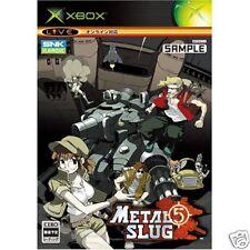 METAL SLUG 5 Xbox X box Import Japan