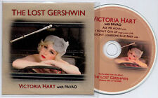 VICTORIA HART The Lost Gershwin Sampler UK 3-trk promo test CD Pavao Revelation