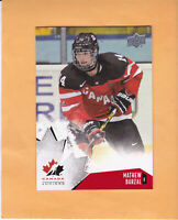 2015 UPPER DECK TEAM CANADA JUNIORS #93 MATHEW BARZAL TEAM CANADA / ISLANDERS