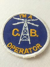 CB Radio Patch I'm A CB Operator Sew On