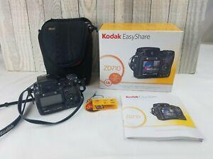 Kodak EasyShare ZD710 7.1MP Digital Camera - Black w/ Strap, Book, & Case