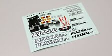Kyosho PZD202 Driver Doll Decal(PORSCHE 962C Coupe)