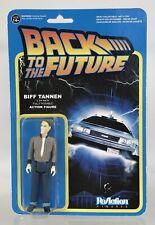 Super7 Funko Reaction Back To The Future Biff Tannen 3.75� Figure New Series