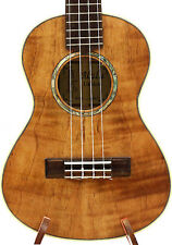 Alulu Solid Curly Mahogany Tenor Ukulele Natural Wood Grain HU1132