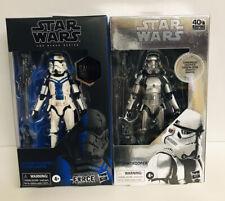 Star Wars Black Series Carbonized Stormtrooper and Commander GameStop Exclusive