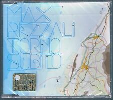 883 MAX PEZZALI TORNO SUBITO CD SINGOLO SINGLE cds SIGILLATO!!!