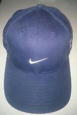 2000 NIKE BUICK GOLF TIGER WOODS NAVY BLUE ADJUSTABLE BASEBALL HAT CAP