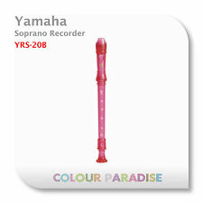 Yamaha Soprano Recorder YRS-20B - Bubble Gum Pink - Popular School Recorder