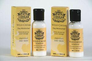 Cougar - Wild Caviar Ultimate Luxury Range Day Moisturiser 2 x 50ml (100ml)