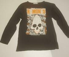 RAMONES Vintage T-Shirt 1991 Japan Tour Long Sleeve Black America Rock Band 90's