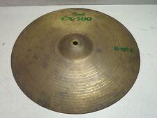 "Pearl CX-500 Hi-Hat/B Cymbal Percussion Instrument Drums 14"""