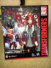 Transformers Power of the Primes ELITA-1 Voyager Class Figure MISB New G1